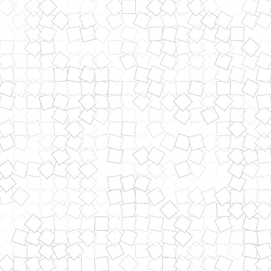 Geometric squares generated by Illustrator script